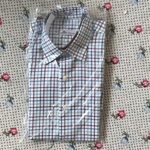 Peter Millar Striped Button-Down Shirt